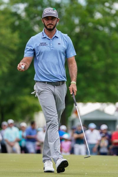 PGA: Max Homa at Wells Fargo Championship - Third Round