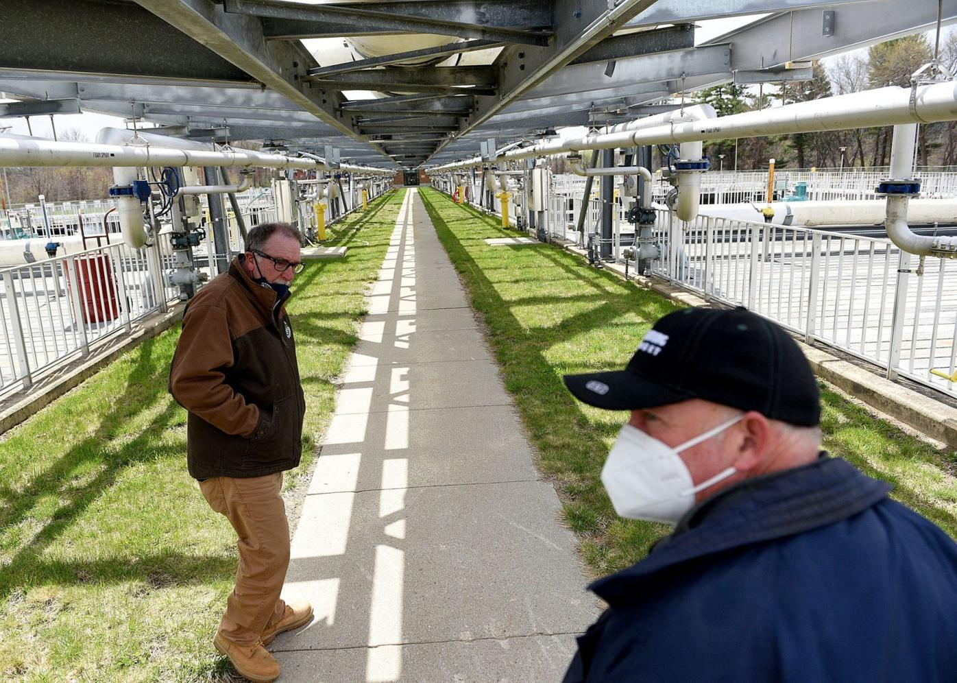 Tour of Manchester's wastewater treatment plant