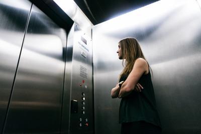 Etiquette in an elevator