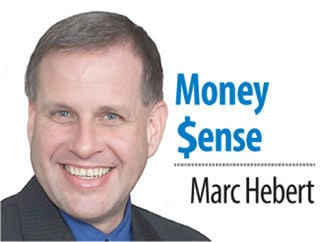 Marc A. Hebert's Money Sense column sig