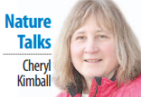 Cheryl Kimball Nature Talks column sig