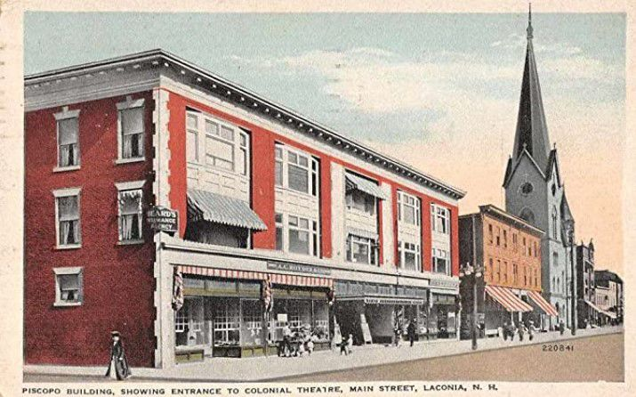 Laconia Colonial Theatre postcard