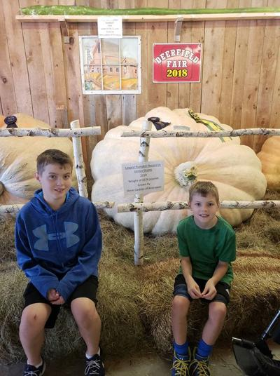 Pumpkins, pastries and piggy protests at 142nd annual Deerfield Fair