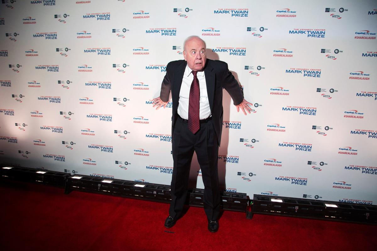 Tim Conway poses for photographers on the red carpet