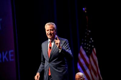 New York City Mayor de Blasio ends 2020 presidential bid