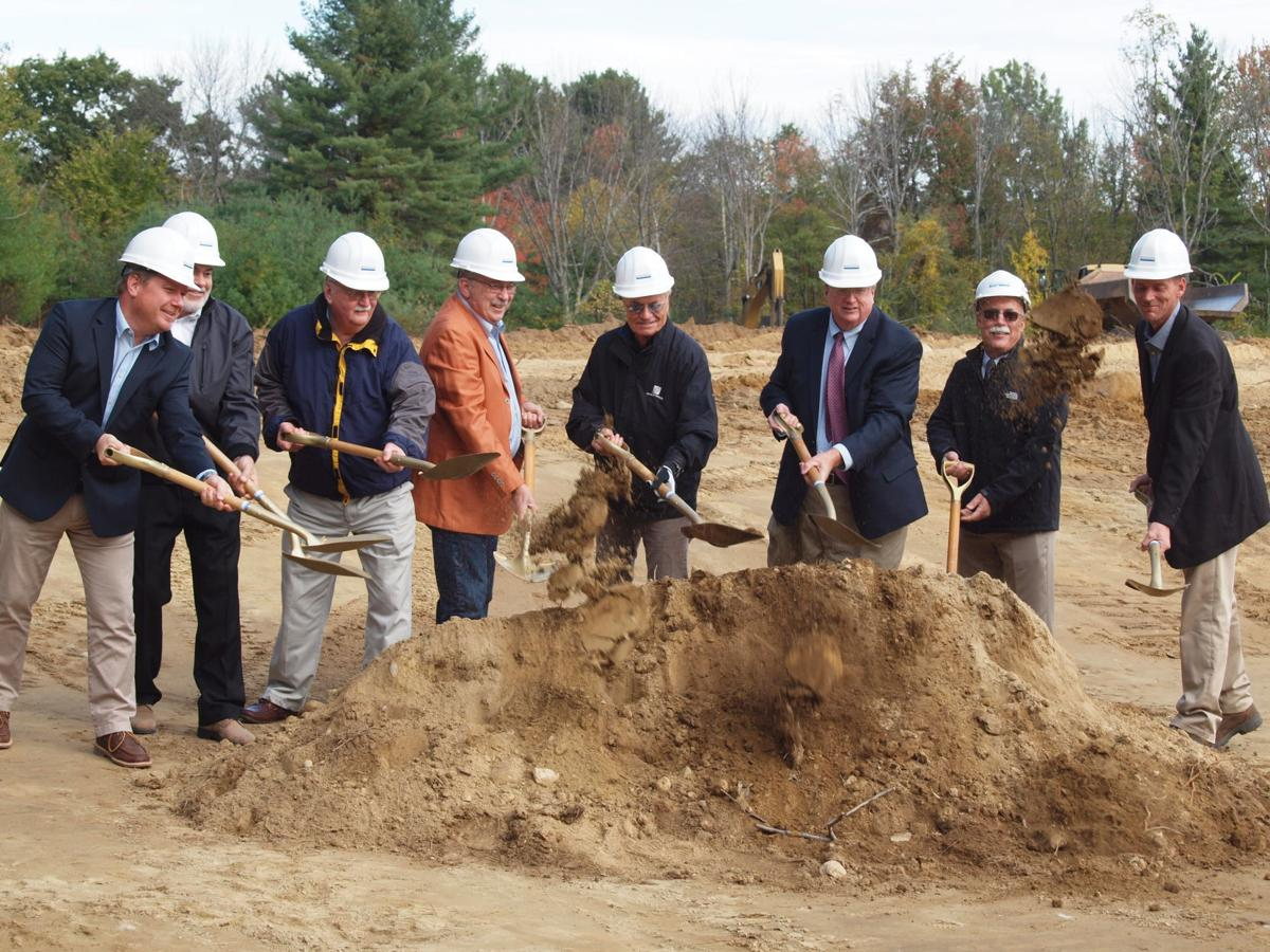 Shovels hit the ground