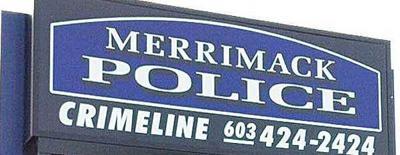Merrimack PD sign
