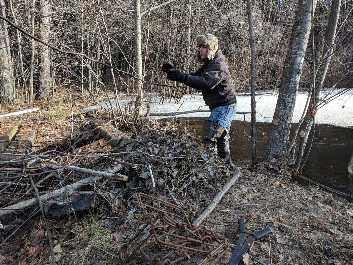 Anton Kaske trapping photo 1