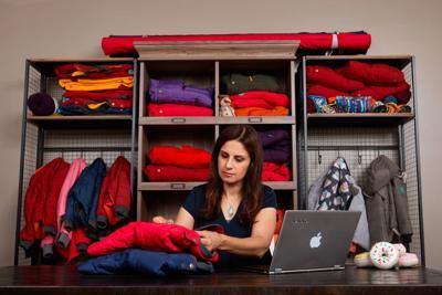 Dahlia Rizk, founder of Buckle Me Baby Coats