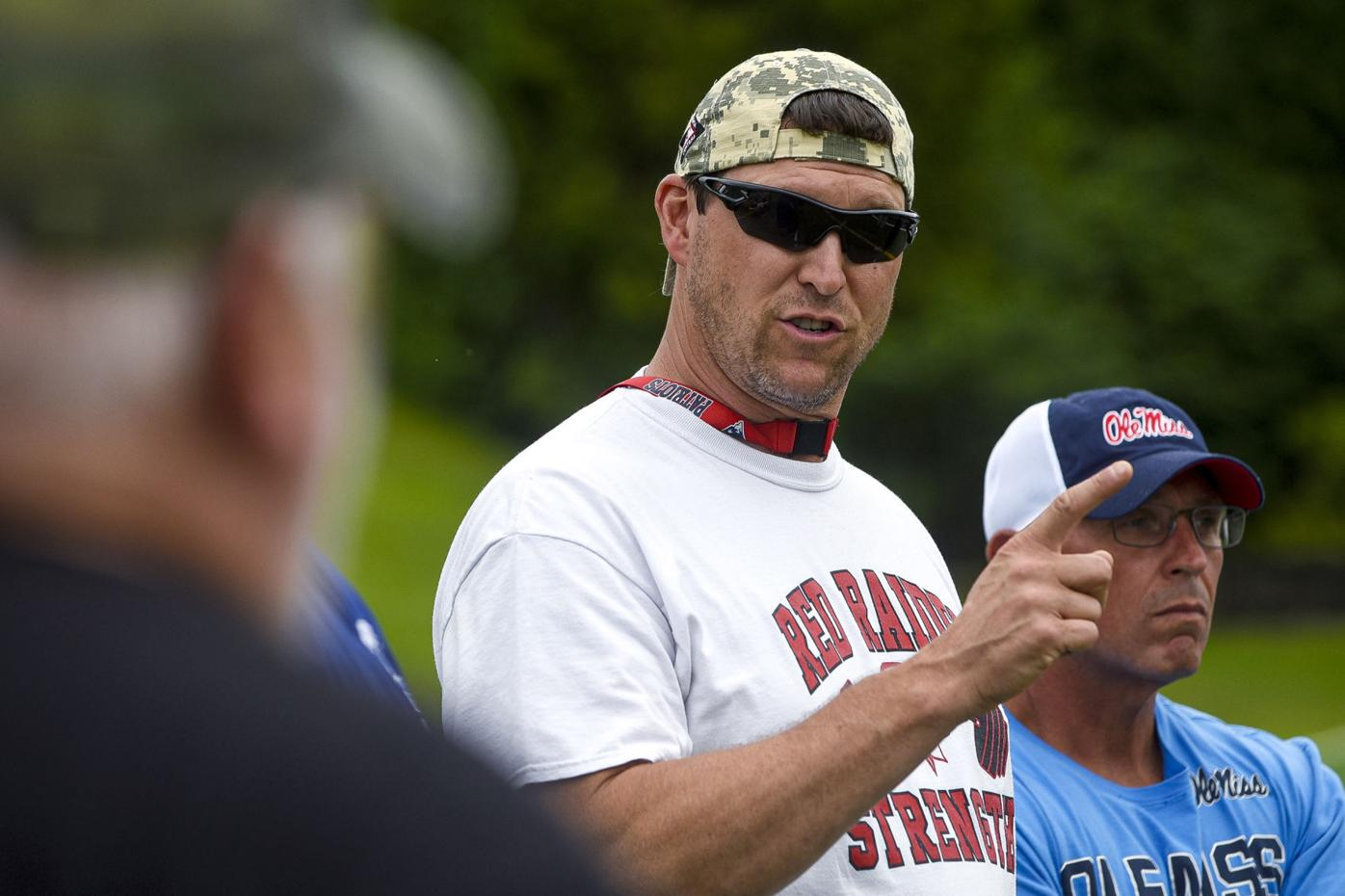 Team East head coach Kevin Hebert