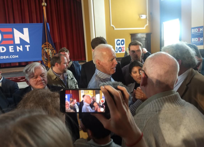 Biden campaign plans anti-Trump protest during NH rally