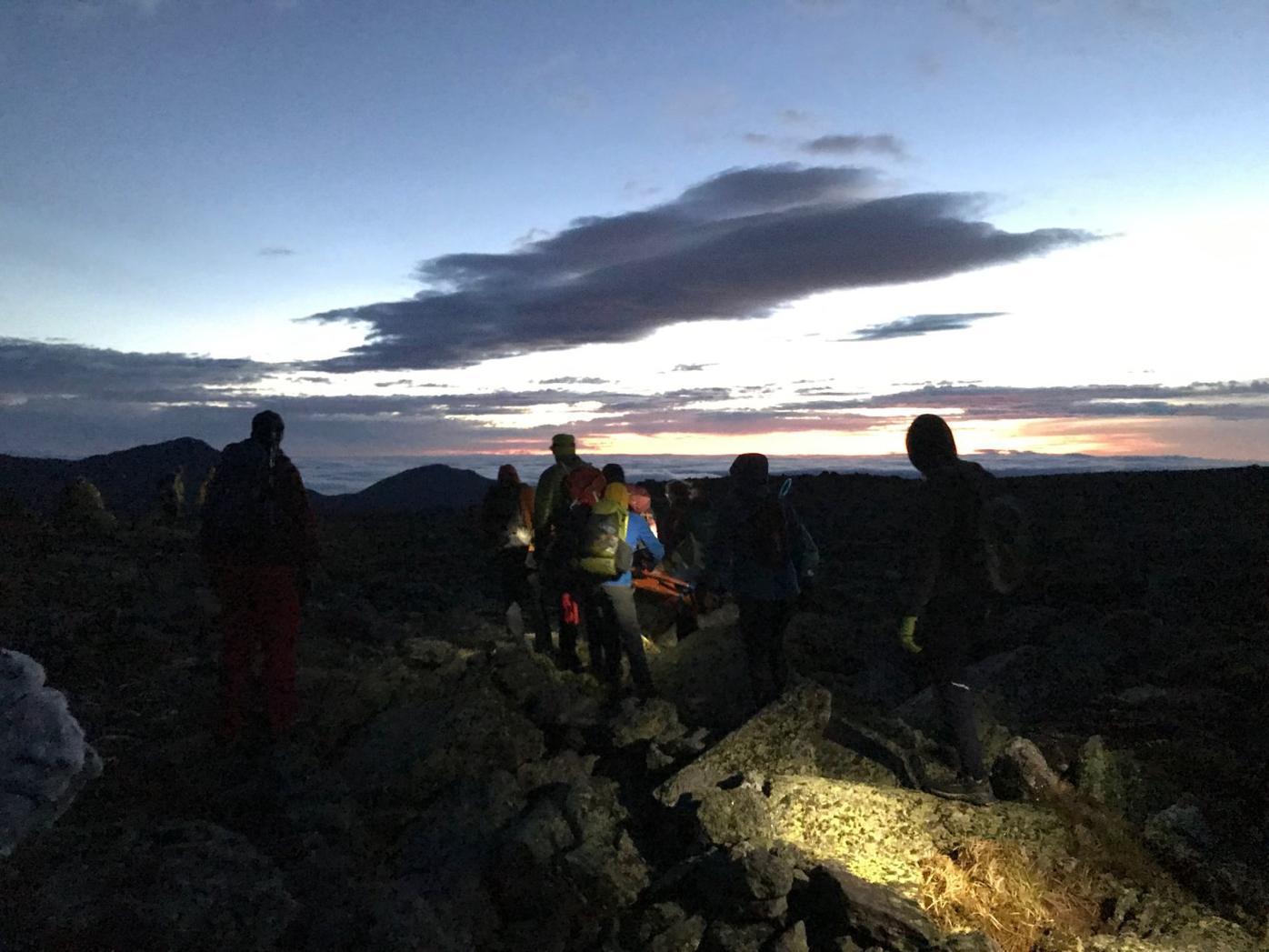 Mount Summit rescue