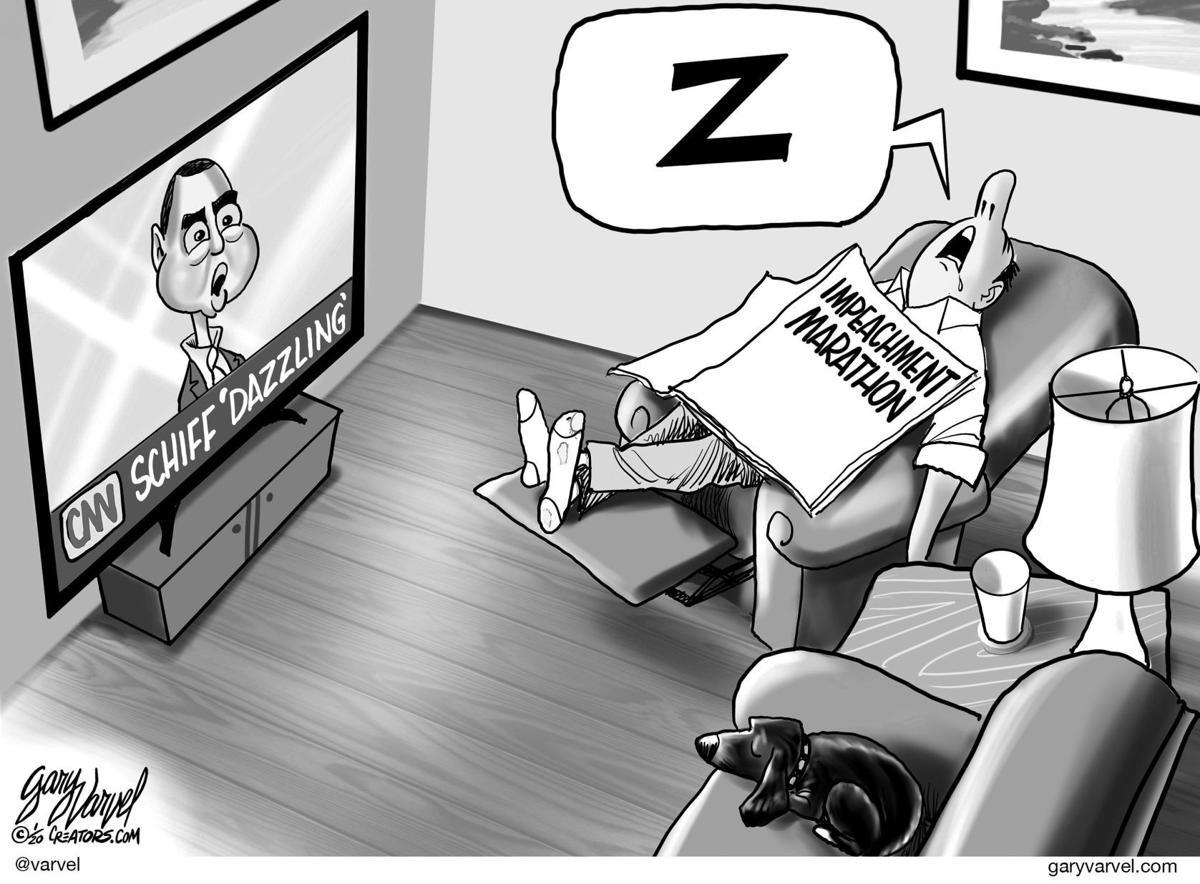 Editorial Cartoon, Jan. 26, 2020