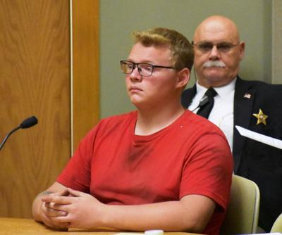 Parker Hogan in court