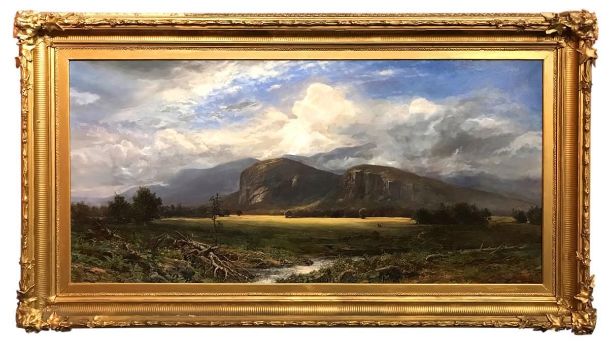 Erik Koeppel paintings featured in Milford