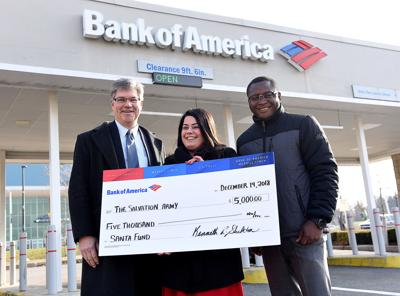 Bank of America's Santa Fund donation