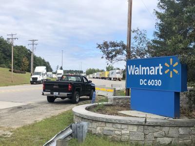 Walmart Distribution Center in Raymond