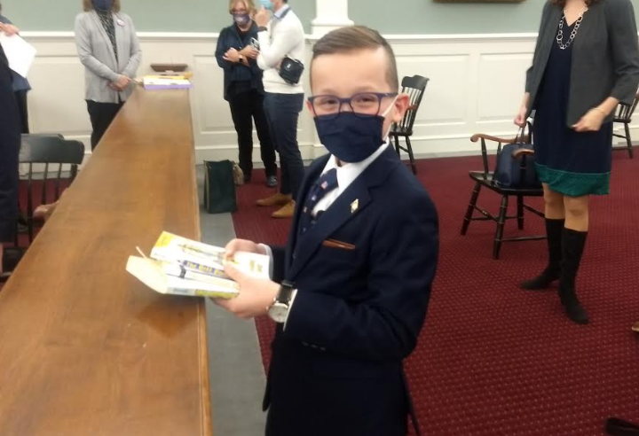 Kid governor's battle with depression inspires