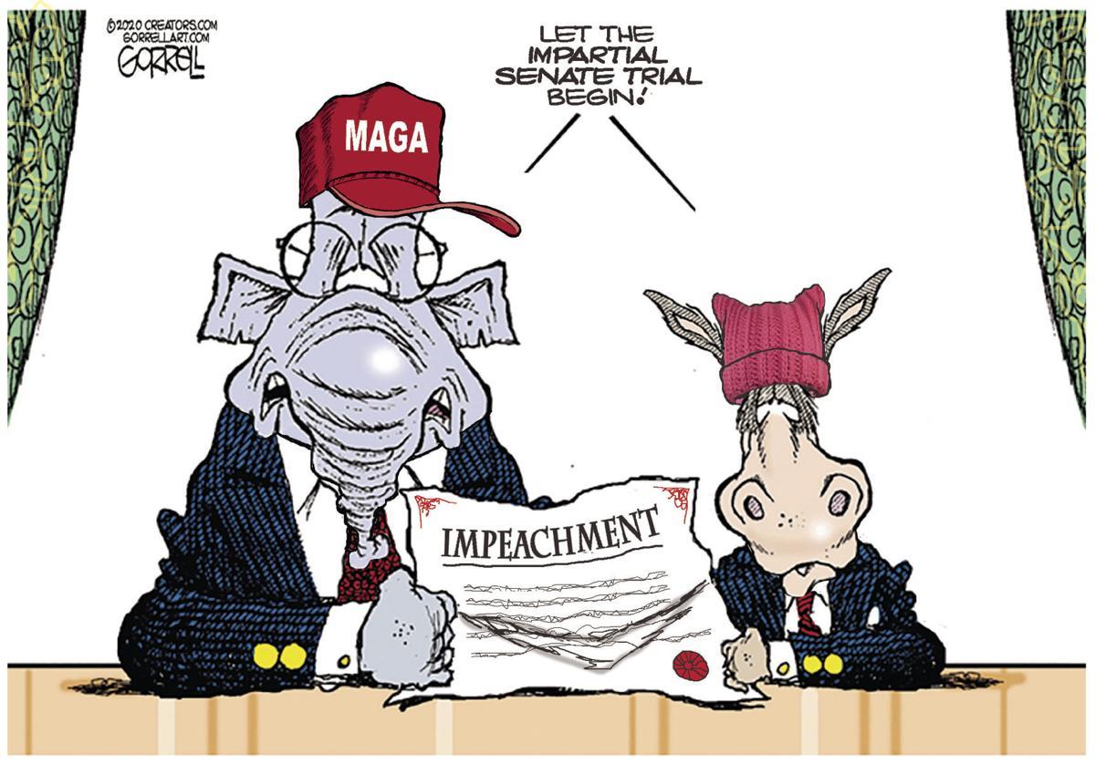 Editorial Cartoon, Jan. 22, 2020