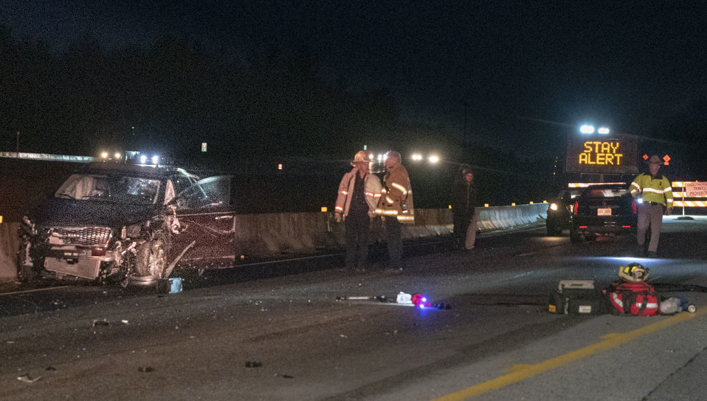 State police investigate rollover crash on I-93 North in Londonderry