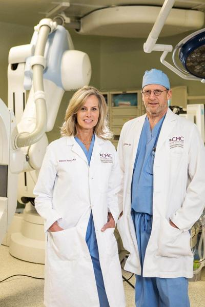 Dr. Patricia Furey and Dr. Yvon Baribeau at Vein & Vascular Specialists in Bedford