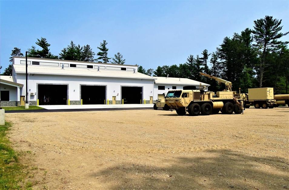 NH Army National Guard opens $8.9 million field maintenance shop in Rochester