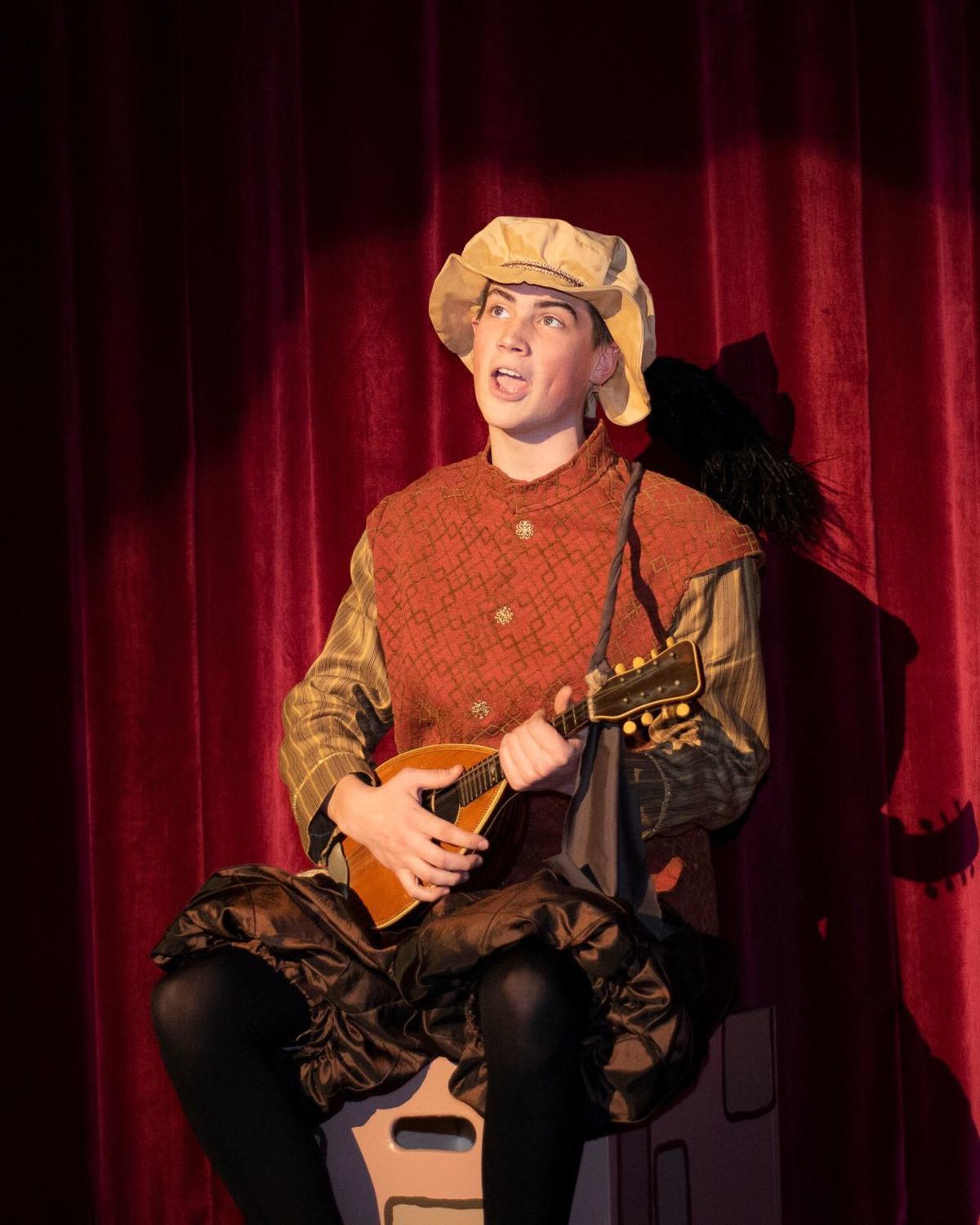 Bryton Hanchett in 'Once Upon a Mattress'