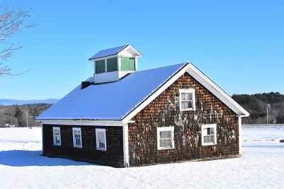 Sugar house at Laconia State School property