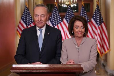 Speaker Pelosi and Senate Minority Leader Schumer