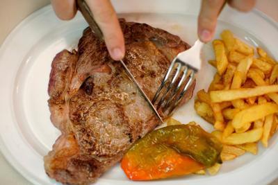 Eat steak