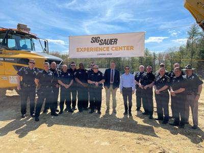 Sig Sauer breaks ground on new $13.5 million 'Experience Center' in Epping