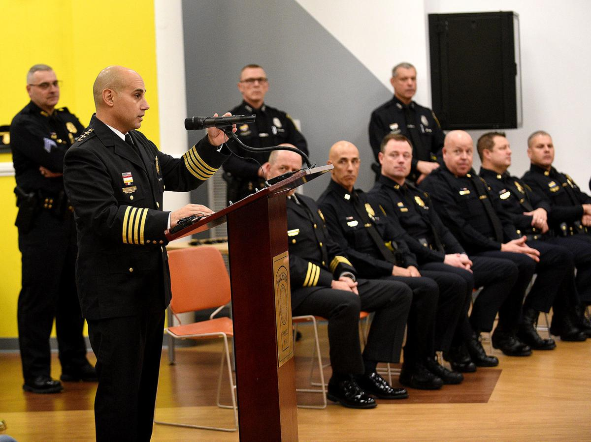 Swearing-in ceremony for 15 new police