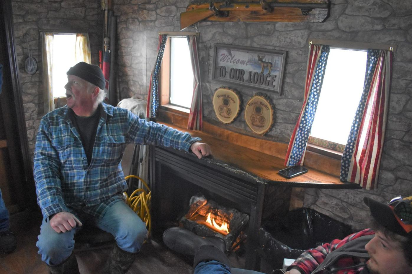 Captain Bob's bobhouse