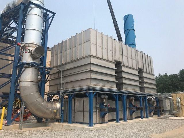 Saint-Gobain's regenerative thermal oxidizer