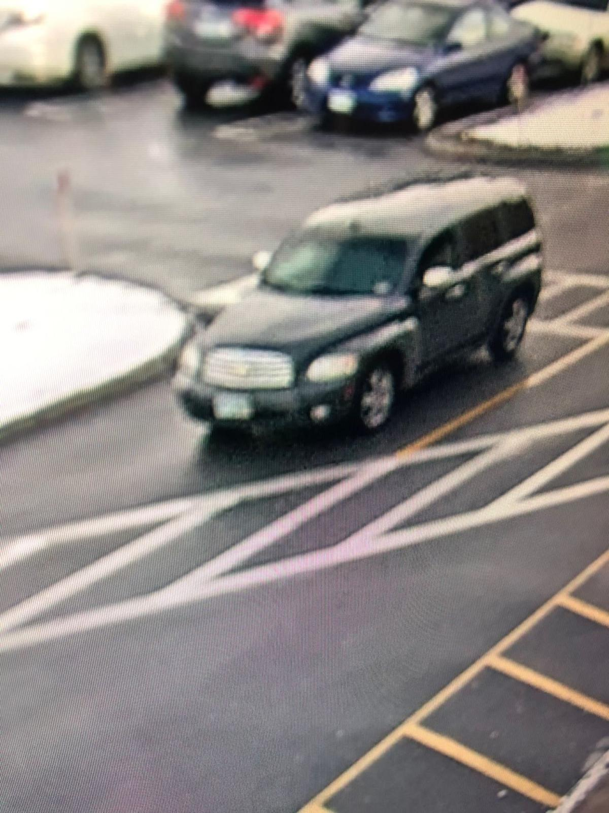 Car involved in Best Buy theft