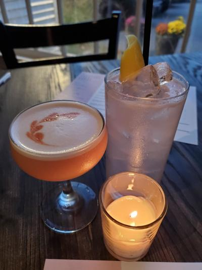 The Carriage House in Rye cocktails