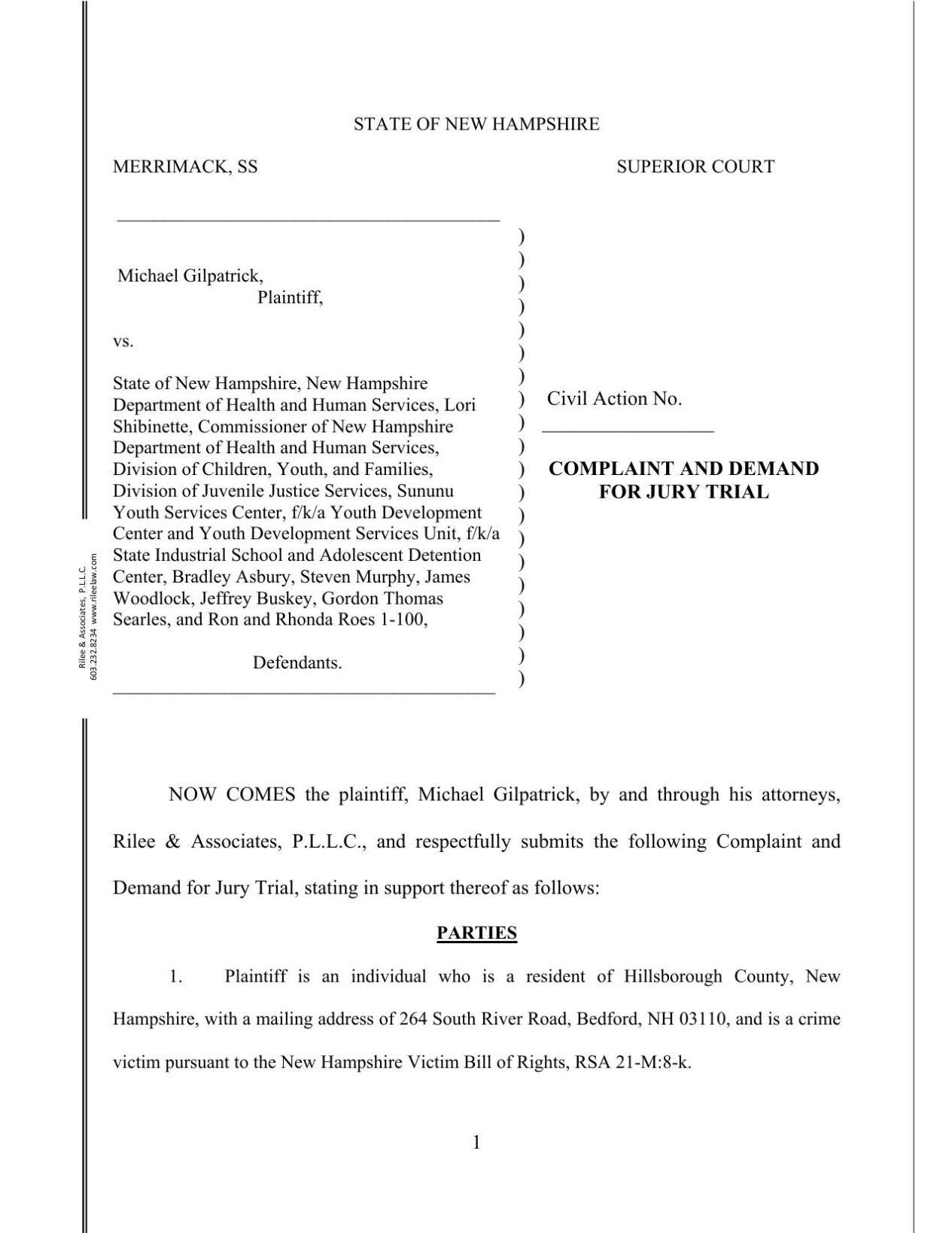 Second lawsuit