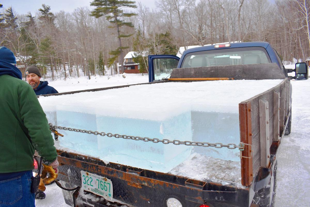 A Squam Lake tradition: Harvesting ice for the camps | Winter Fun