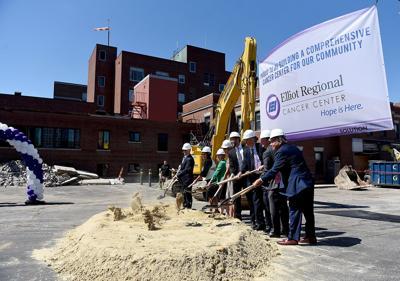 Elliot Regional Cancer Center groundbreaking