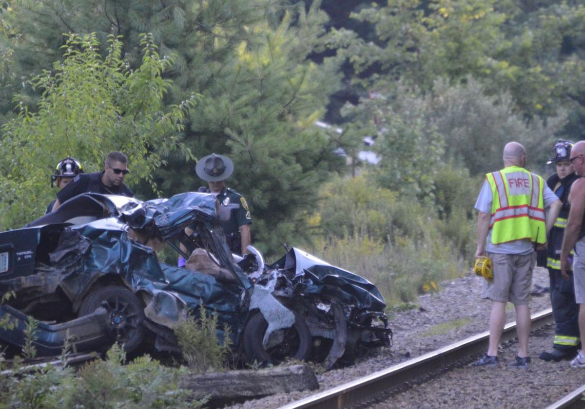 Driver killed when train strikes car in Newton   Public