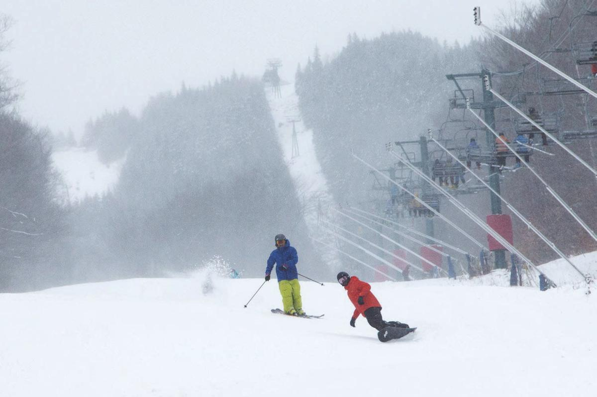 Winter Notes: Snow-sliders find joy in season's first turns