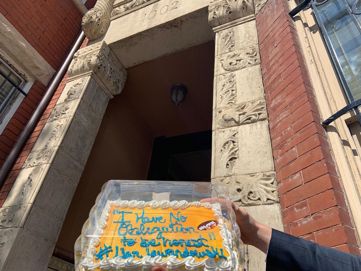 Lewandowski cake