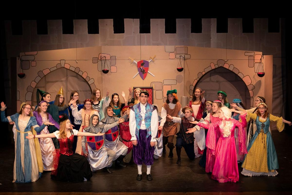 Students Bring Back Laughs In Once Upon A Mattress A E
