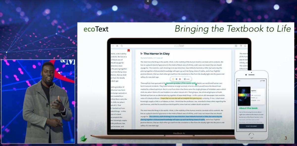 ecoText pitch
