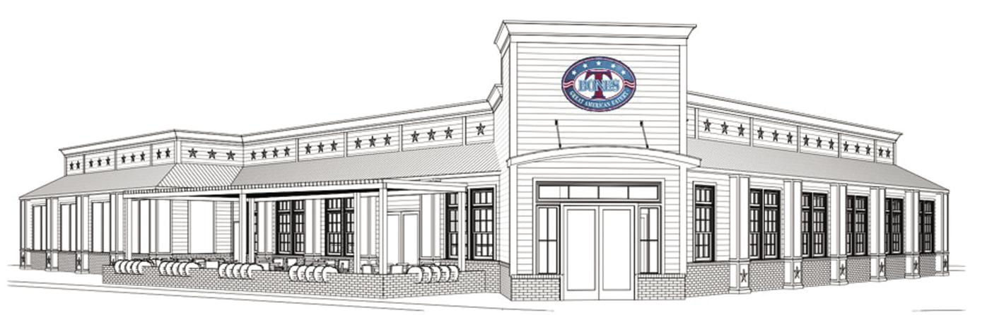 A rendering of Concord's new T-bones