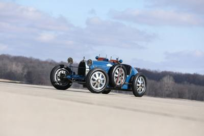 Top bid for rare Bugatti restored in Portsmouth falls well short of $1.8M reserve