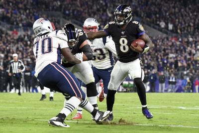 New England Patriots at Baltimore Ravens