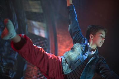 Liam Redford stars in 'Billy Elliot: The Musical'