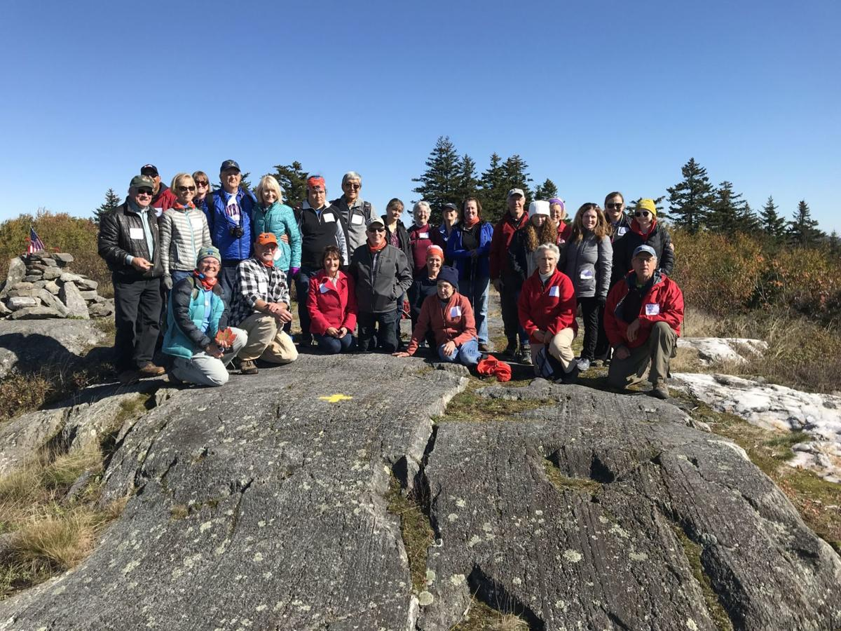 Hikers on Silver Mountain