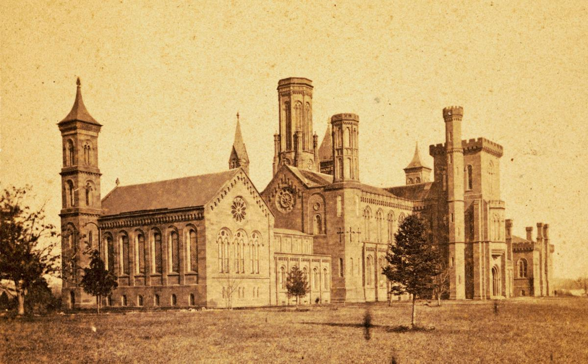 Smithsonian Institution Building 1864